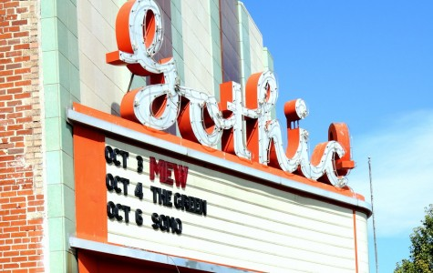 The Gothic Theatre on Broadway in Englewood