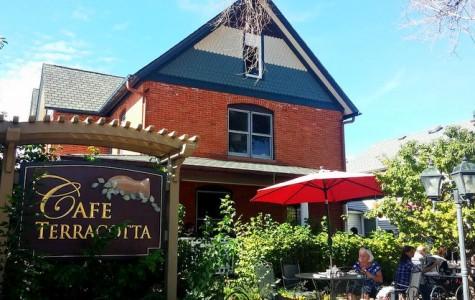 Cafe Terracotta: Quaint outside, modern menu inside