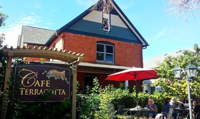 Cafe Terracotta, downtown Littleton.