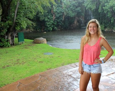 Brooklyn Clare in Sun City, South Africa.