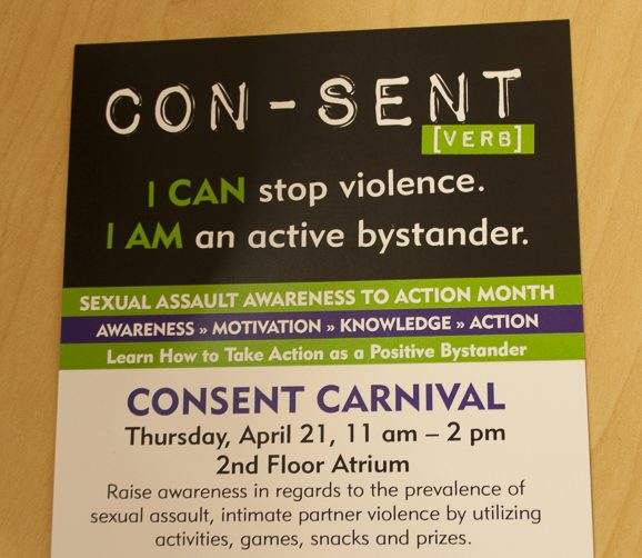 Student Life is hosting a Consent Carnival on Thursday, April 21