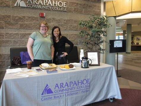 Left: Rae Brendecke (ACC Career Counselor); Right: Gwen Young (ACC Parker Campus Manager)
