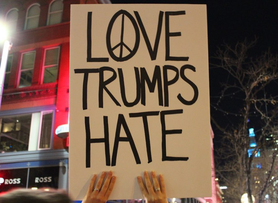 Views from an Anti-Trump Protest