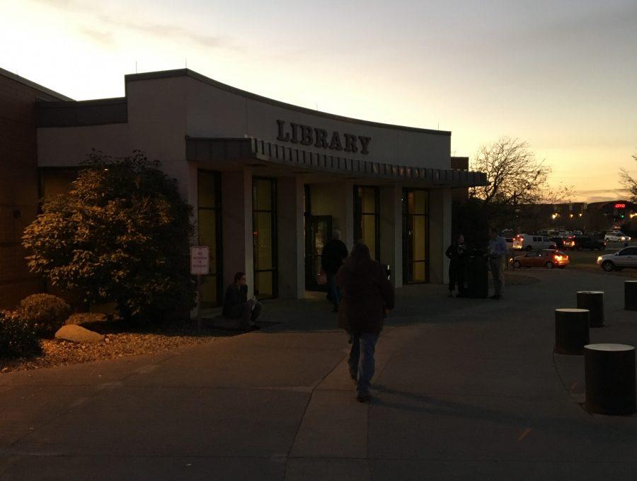 Voters head to Columbine Library