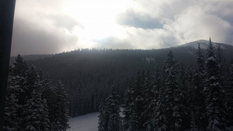 Sunrise at Copper, taken from American Flyer lift.