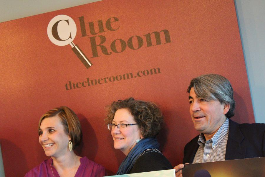 Courtney Loehfelm (left), Elisa Mata (center), Todd Mata (right).