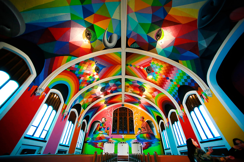 A look inside The International Church of Cannabis. Photo by Helen H. Richardson/The Denver Post via The Cannabist