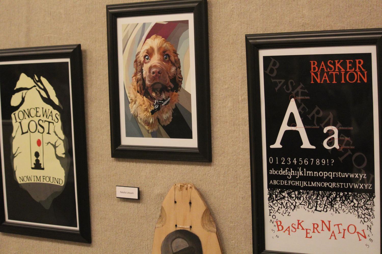 Artwork on display by Natalia Lebsack.