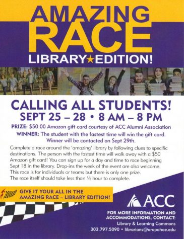 The Amazing Race – The Library Edition