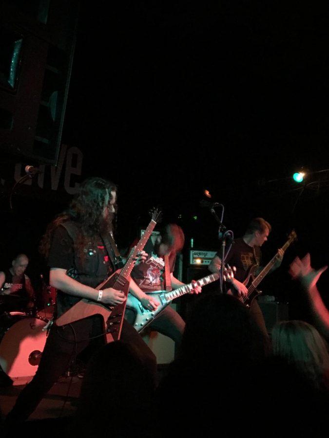 Khemmis performing at the Hi-Dive on Saturday, October 14