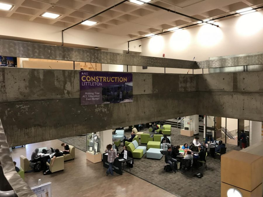 A view approaching the newly renovated third floor science labs at Arapahoe Community College. Feb. 6, 2018. (Bryden Smith/The Arapahoe Pinnacle).