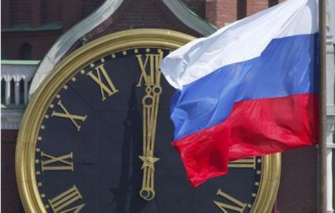 The clock tower in the Kremlin, from segodnya.ua, via gazeta-ov.ru