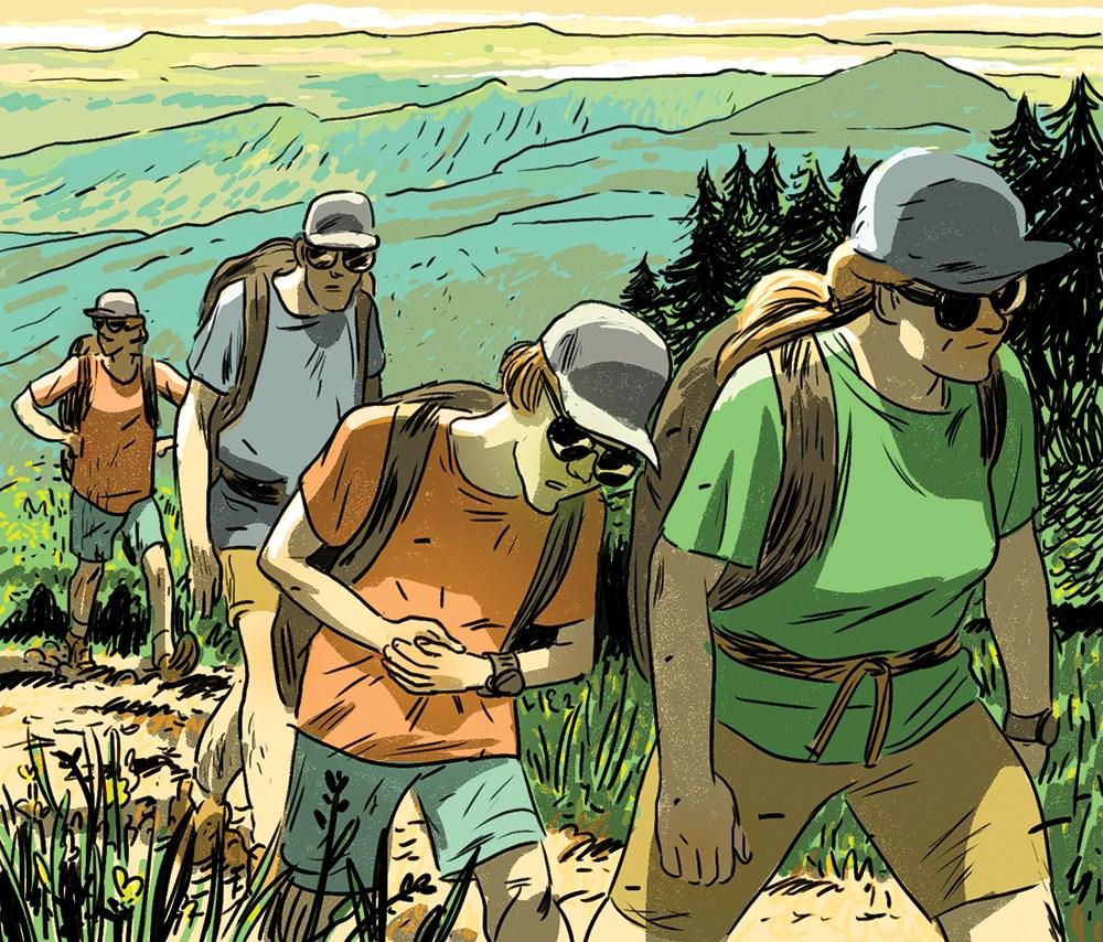 Image via Scouting magazine by Robert Charles Illustration