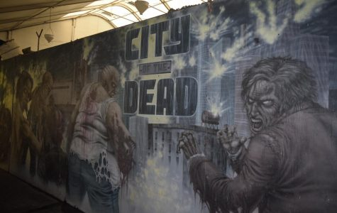 City of the Dead Haunted House and Asylum, Tuesday, Oct. 9, 2018 in Henderson Colo.