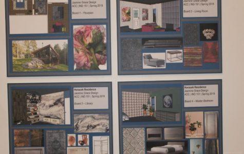 Interior Design Student Display