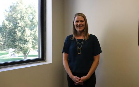 Courtney Kuntz, director of  Bachelor of Applied Science and Human Services, on Wed Sept 11, 2019. ACC has now a Bachelor program in Emergency Service Administration.