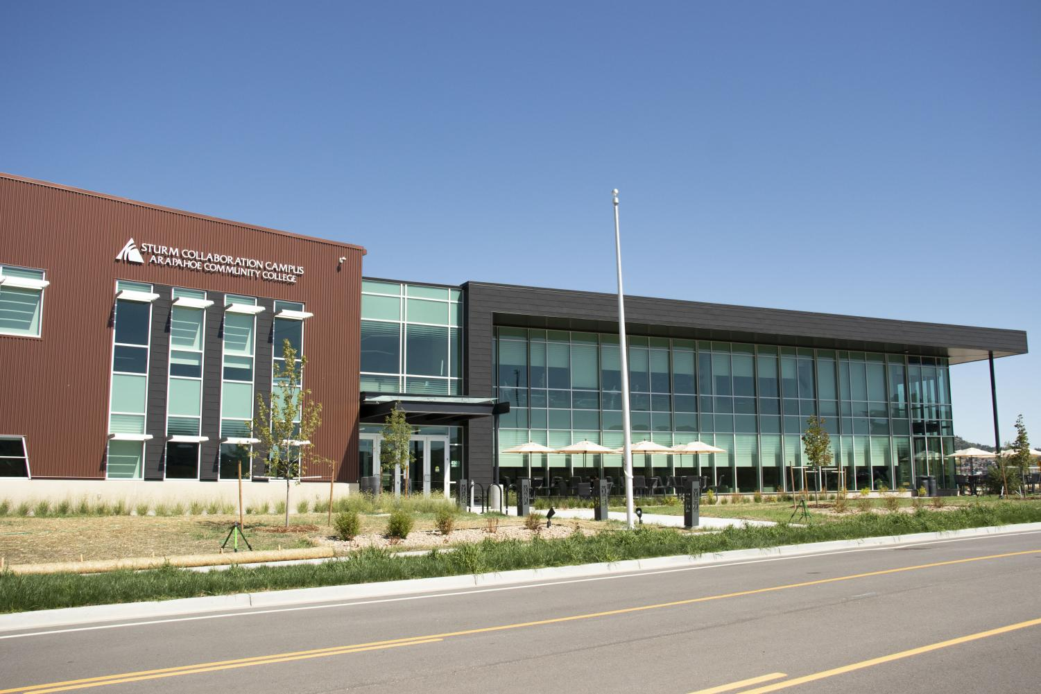 Sturm Collaboration Campus in Castle Rock on Friday, Sep 13, 2019. This new collaboration campus opened this semester.