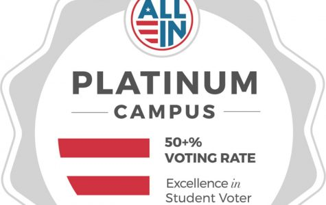 Arapahoe Community College wins the Platinum Seal from the ALL IN Campus Democracy Challenge