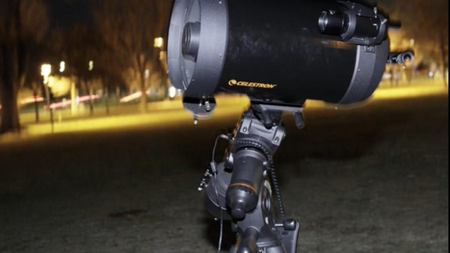 Telescope+at+the+Astronomy+Party+at+Arapahoe+Community+College+in+Littleton%2C+Colo.%2C+on+Oct.+25%2C+2019.
