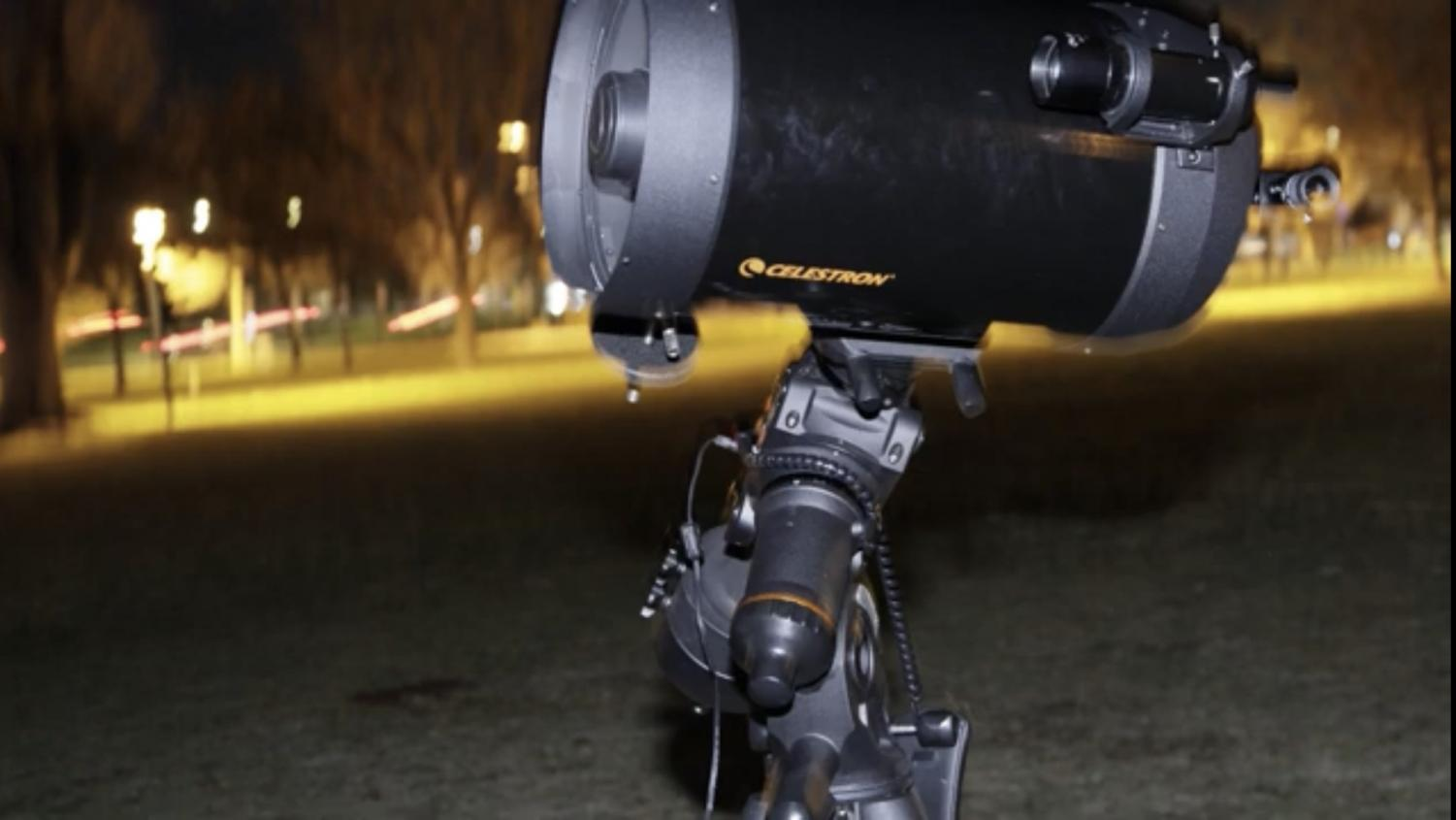 Telescope at the Astronomy Party at Arapahoe Community College in Littleton, Colo., on Oct. 25, 2019.