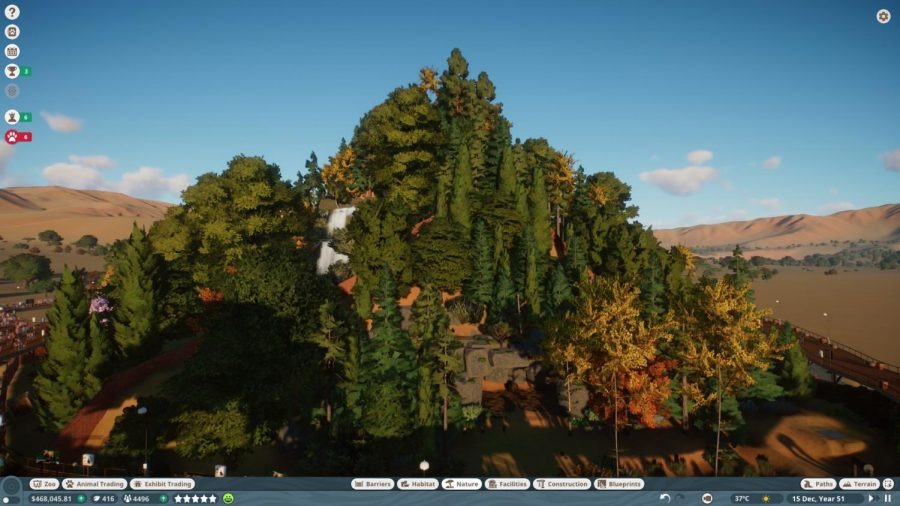 One of my crowning achievements in Planet Zoo. I call it Bear Mountain, which houses unique habitats from bears across the world.