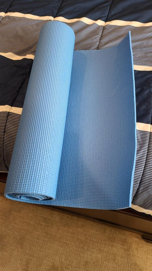 Remember how I said if I died in a game it came with consequences? This workout mat has become well acquainted with me.