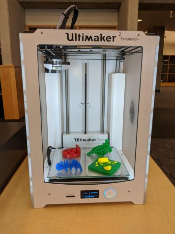 The 3D Printer located at Arapahoe Community College, Littleton Campus taken on Sep. 24 2020