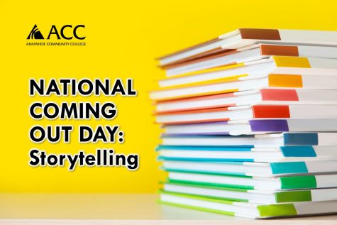 October 12, 2020, ACC welcomes all students to National Coming Out Day Storytelling