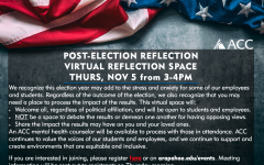 POST-ELECTION REFLECTION  Thursday, November 5, 2020