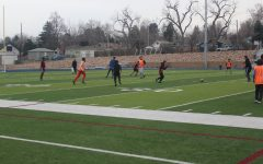 Teamwork success within the soccer team, Englewood High School, March 11,2021. via Joseph Groenbeck