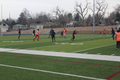 Teamwork success within the soccer team, Englewood High School, March 11,2021. via Joseph Groenbeck