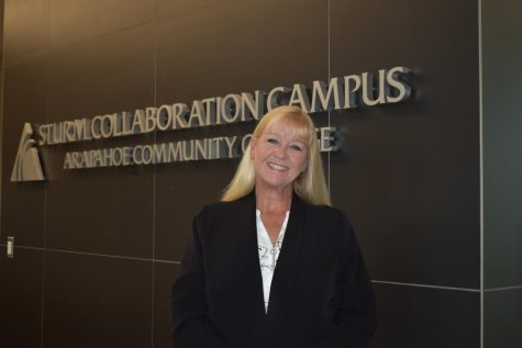 Kristi Strother at the Sturm Collaboration Campus on May 4, 2021.